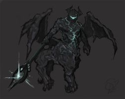 Harbinger, the Outworld Destroyer by Halycon450