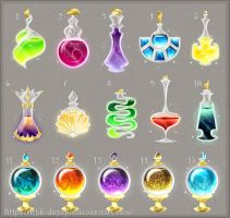 Potion adopts 14 (CLOSED) by Rittik-Designs