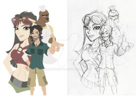 Total Drama Island Step 1 of 8 by chinaguy16