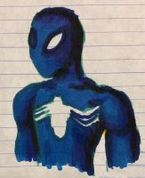 Blue Spider-Man  by swiftcross