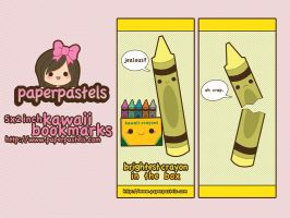 jerk crayon bookmarks by circuskillers