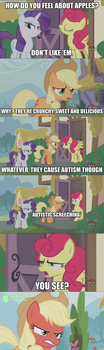 Apples according to Strawberry Sunrise by 3000-fancazzista