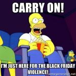 Image result for black friday SIMPSONS