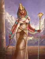 Nephthys by Montjart