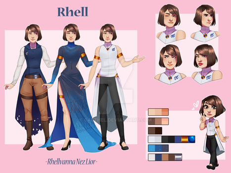 Character Reference Commission - Rhell by caezhel