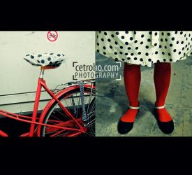 MY RED BICYCLE by cetrobo
