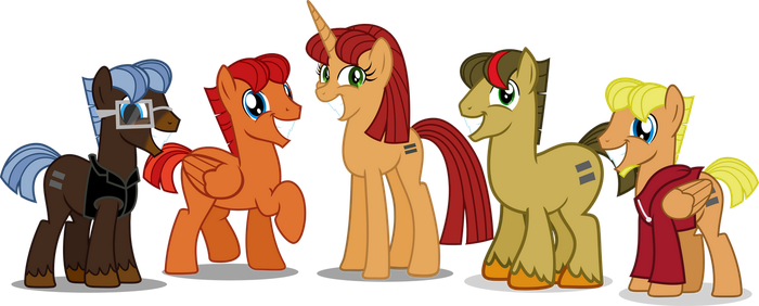The Equal livestream council by Vector-Brony