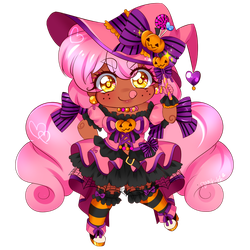 Halloween Cheeb by PastelPyon