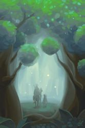 Untitled Forest by zipple