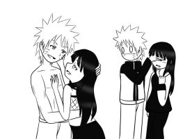 Naruhina: Don't Look by xmizuwaterx