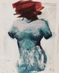 blue figure by charlotvanh