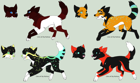 Wolf Adopts by PentTheCat