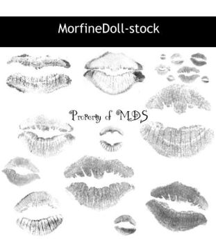 MDS Kisses by MorfineDoll-stock