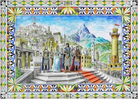 A Royal Wedding in Numenor by MatejCadil