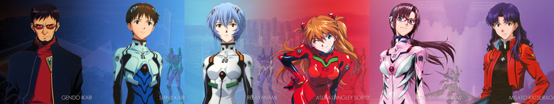 Evangelion 2.22 Multimonitor Wallpaper by Dosycool