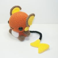 Raichu by Heartstringcrochet