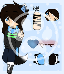 Madison Moon|Eddsworld OC Bio/Ref Sheet by MidnightDrawsYT