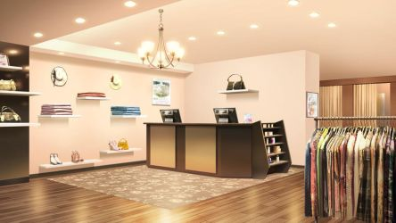 Retail clothing boutique by Vui-Huynh