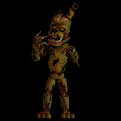William Afton 'Springtrap' Model by EndyArts