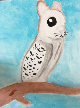 Bunnowl  by F00000d