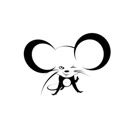 Dancing mouse animation by DolphinCry