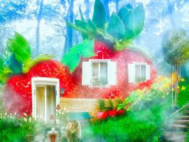 Strawberry House by in2cr3ativ3