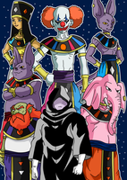 Gods Of Destruction - Universe Survival Saga by Cheetah-King