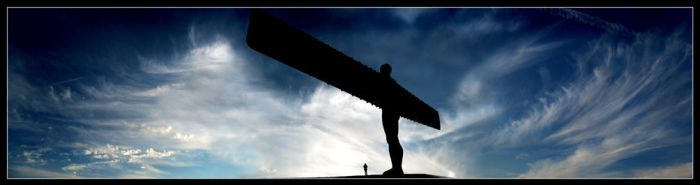 Angel Of The North V2 by xyster