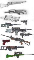 Advanced Weapons: GUNZ by OutFoxedTW