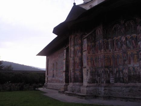 monastery from Bucovina by bogdancta