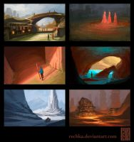 Environment Thumbnails 2 by Rechka