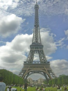 Eiffel tower edit by CtechWeb