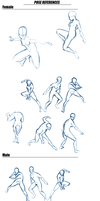 Action Poses_Reference by keishajl