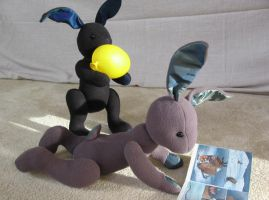Bunny Plush - Trouble by brightling