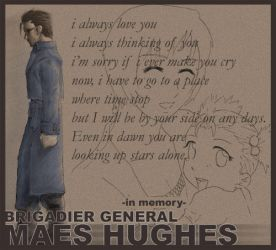 Tribute to Maes Hughes by nockie