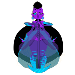 Gem Fusion- Tanzinite by Illzie