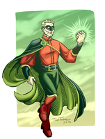 The light of the Green Lantern by TariToons