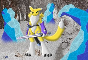Kitsune Renamon Part 1 by clashmecha