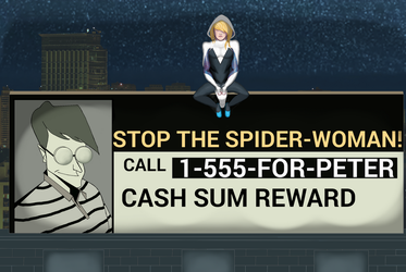 I-I'm Sorry Peter... (Gwen Stacy / Spider-Woman) by Slime-Series