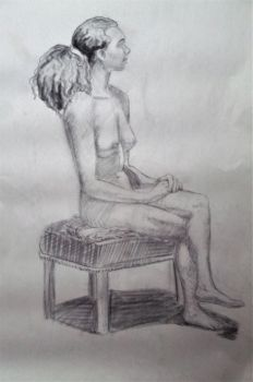 Figure Drawing 1 by JaceyKing