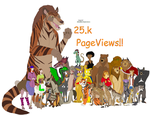 25k Pageviews! by Patchi1995