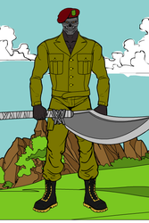 Iron Knife 02 by lordcrotch