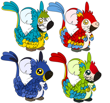 Macaw Fur Concepts by Sonicyss