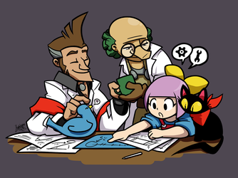 GT - Bonding through science by raygirl
