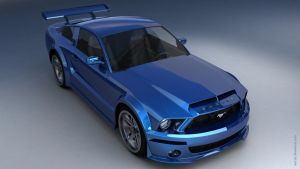 Ford Mustang Shelby GT by mpt1st
