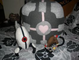 All Portal Plush Together by Glacideas
