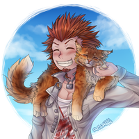 Leon Kuwata by Aria-Hope