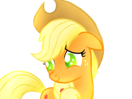 Applejack by HeavyMetalBronyYeah