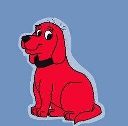 Clifford the big red dog (Tribute) by lassie32