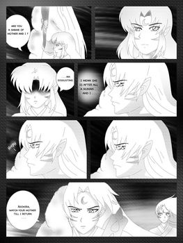 INUYASHA: The Hanyo And The Crescent Moon (4) by Adohira